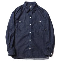 <img class='new_mark_img1' src='//img.shop-pro.jp/img/new/icons5.gif' style='border:none;display:inline;margin:0px;padding:0px;width:auto;' />CALEE - BIG SIZE L/S DENIM SHIRT