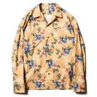 <img class='new_mark_img1' src='//img.shop-pro.jp/img/new/icons49.gif' style='border:none;display:inline;margin:0px;padding:0px;width:auto;' />CALEE - FLOWER PATTERN L/S SHIRT