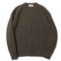 <img class='new_mark_img1' src='//img.shop-pro.jp/img/new/icons22.gif' style='border:none;display:inline;margin:0px;padding:0px;width:auto;' />CALEE - CREW NECK KNIT SWEATER (40%OFF)