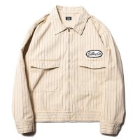 <img class='new_mark_img1' src='//img.shop-pro.jp/img/new/icons49.gif' style='border:none;display:inline;margin:0px;padding:0px;width:auto;' />CALEE - HERINGBONE STRIPE JACKET