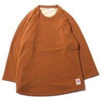 <img class='new_mark_img1' src='//img.shop-pro.jp/img/new/icons5.gif' style='border:none;display:inline;margin:0px;padding:0px;width:auto;' />CALEE - BOMBER HEAT 3/4 SLEEVE CUTSEW