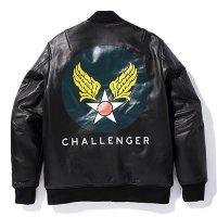 <img class='new_mark_img1' src='//img.shop-pro.jp/img/new/icons49.gif' style='border:none;display:inline;margin:0px;padding:0px;width:auto;' />CHALLENGER - LEATHER FLIGHT JACKET