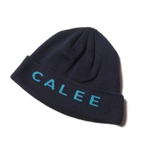 <img class='new_mark_img1' src='https://img.shop-pro.jp/img/new/icons49.gif' style='border:none;display:inline;margin:0px;padding:0px;width:auto;' />CALEE - JACQUAED KNIT CAP