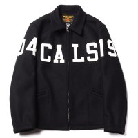 <img class='new_mark_img1' src='//img.shop-pro.jp/img/new/icons5.gif' style='border:none;display:inline;margin:0px;padding:0px;width:auto;' />CALEE - WOOL MELTON SPORTS TYPE WAPPEN JACKET