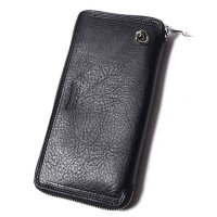 <img class='new_mark_img1' src='https://img.shop-pro.jp/img/new/icons49.gif' style='border:none;display:inline;margin:0px;padding:0px;width:auto;' />CALEE - Leather round zip long wallet
