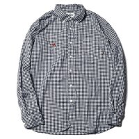 <img class='new_mark_img1' src='//img.shop-pro.jp/img/new/icons5.gif' style='border:none;display:inline;margin:0px;padding:0px;width:auto;' />CALEE - Gingham check l/s shirt