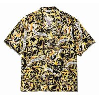<img class='new_mark_img1' src='//img.shop-pro.jp/img/new/icons5.gif' style='border:none;display:inline;margin:0px;padding:0px;width:auto;' />CALEE - Allover leaf pattern S/S shirt