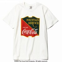 <img class='new_mark_img1' src='//img.shop-pro.jp/img/new/icons5.gif' style='border:none;display:inline;margin:0px;padding:0px;width:auto;' />CALEE - COCA-COLA collaboration emblem t-shirt