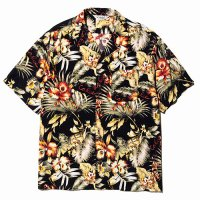 <img class='new_mark_img1' src='//img.shop-pro.jp/img/new/icons5.gif' style='border:none;display:inline;margin:0px;padding:0px;width:auto;' />CALEE - Hawaiian S/S shirt