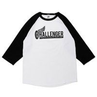 <img class='new_mark_img1' src='//img.shop-pro.jp/img/new/icons49.gif' style='border:none;display:inline;margin:0px;padding:0px;width:auto;' />CHALLENGER - WHEEL LOGO RAGLAN TEE