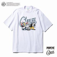 <img class='new_mark_img1' src='//img.shop-pro.jp/img/new/icons49.gif' style='border:none;display:inline;margin:0px;padding:0px;width:auto;' />CALEE - POPEYE collaboration print t-shirt