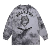 <img class='new_mark_img1' src='//img.shop-pro.jp/img/new/icons5.gif' style='border:none;display:inline;margin:0px;padding:0px;width:auto;' />CHALLENGER - TIE DYE WOLF L/S TEE