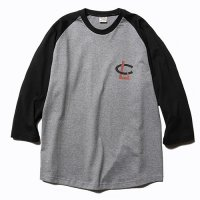 <img class='new_mark_img1' src='//img.shop-pro.jp/img/new/icons49.gif' style='border:none;display:inline;margin:0px;padding:0px;width:auto;' />CALEE - 3/4 Sleeve raglan t-shirt