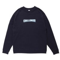 <img class='new_mark_img1' src='//img.shop-pro.jp/img/new/icons5.gif' style='border:none;display:inline;margin:0px;padding:0px;width:auto;' />CHALLENGER - COLLEGE LOGO C/N SWEAT