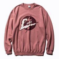 <img class='new_mark_img1' src='//img.shop-pro.jp/img/new/icons5.gif' style='border:none;display:inline;margin:0px;padding:0px;width:auto;' />CALEE - Lightning logo crew neck sweat