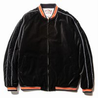 <img class='new_mark_img1' src='//img.shop-pro.jp/img/new/icons5.gif' style='border:none;display:inline;margin:0px;padding:0px;width:auto;' />CALEE - Velveteen embroidery lib jacket