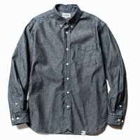 <img class='new_mark_img1' src='https://img.shop-pro.jp/img/new/icons5.gif' style='border:none;display:inline;margin:0px;padding:0px;width:auto;' />CALEE - Chambray B,D L/S shirt