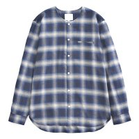 <img class='new_mark_img1' src='//img.shop-pro.jp/img/new/icons49.gif' style='border:none;display:inline;margin:0px;padding:0px;width:auto;' />VICTIM - NO COLLAR CHECK SHIRTS
