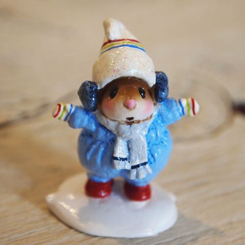 Snowbound Girl (Blue)