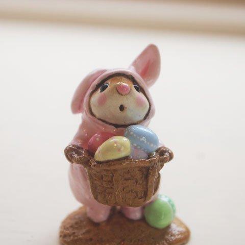 Easter Bunny Mouset Wee Forest Folk