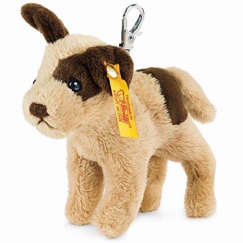 シュタイフ キーリング 犬 テディベア Keyring Strolch Dog