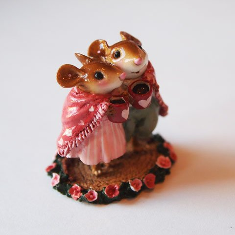 Cocoa Couple wee forest folk