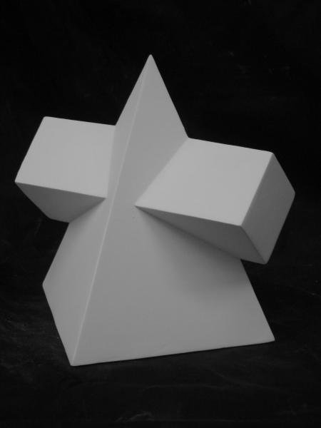 G−834 角錐角柱相貫体(大)