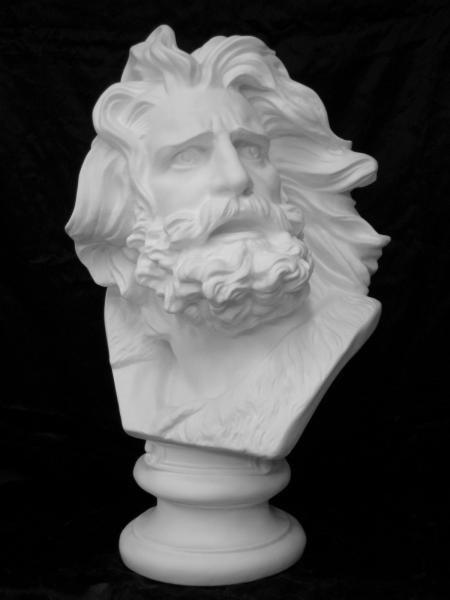 K−133 ひげの男胸像