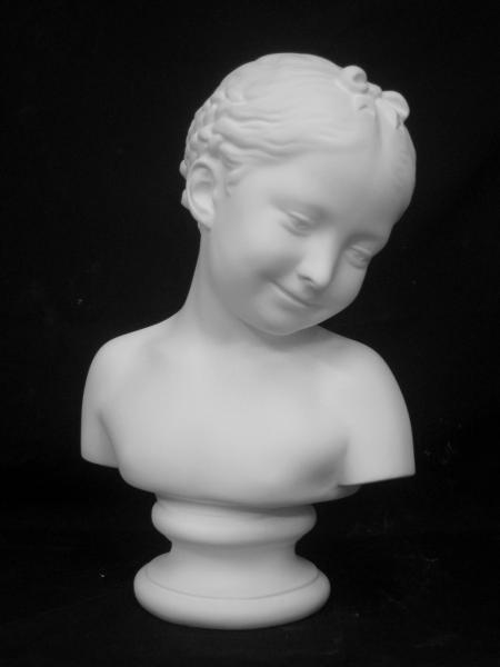 5月のお買い得品20%オフ A−330 パンパローニ作少女胸像(旧:ドナテルロ少女)
