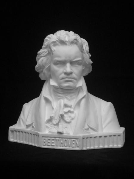 A−381 ベートーベン胸像(中・特)