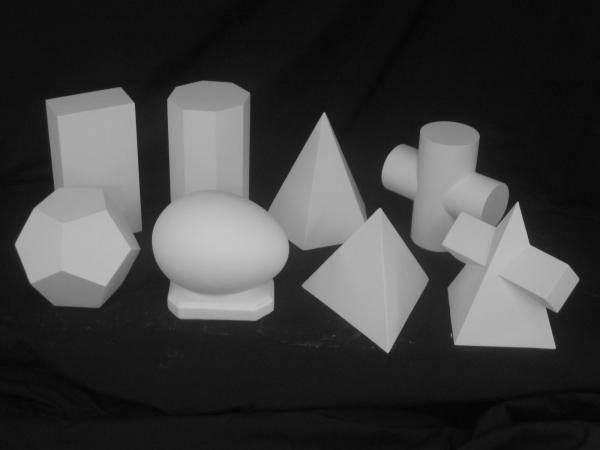 G−852 幾何形体8点セット