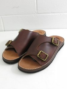 <img class='new_mark_img1' src='//img.shop-pro.jp/img/new/icons50.gif' style='border:none;display:inline;margin:0px;padding:0px;width:auto;' />【TOKYO SANDALS】 トウキョウ サンダル TS-B07 ダブルモンクサンダル (赤錆色/RED RUST BROWN)