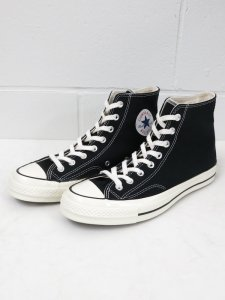 <img class='new_mark_img1' src='https://img.shop-pro.jp/img/new/icons50.gif' style='border:none;display:inline;margin:0px;padding:0px;width:auto;' />【CONVERSE】コンバース CHUCK TAYLOR 1970s(CT70)復刻  日本未発売モデル (BLACK)