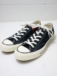 <img class='new_mark_img1' src='//img.shop-pro.jp/img/new/icons50.gif' style='border:none;display:inline;margin:0px;padding:0px;width:auto;' />【CONVERSE】コンバース CHUCK TAYLOR 1970s(CT70)復刻  日本未発売モデル (BLACK)