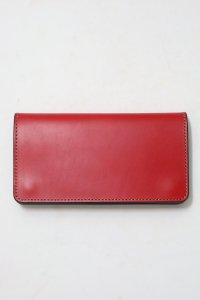 <img class='new_mark_img1' src='//img.shop-pro.jp/img/new/icons14.gif' style='border:none;display:inline;margin:0px;padding:0px;width:auto;' />【GERUGA】ゲルガ LEATHER WALLET -LONG- (RED)