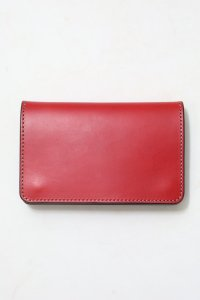 <img class='new_mark_img1' src='//img.shop-pro.jp/img/new/icons50.gif' style='border:none;display:inline;margin:0px;padding:0px;width:auto;' />【GERUGA】ゲルガ LEATHER WALLET -MIDDLE- (RED)