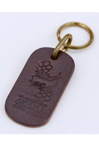 <img class='new_mark_img1' src='//img.shop-pro.jp/img/new/icons14.gif' style='border:none;display:inline;margin:0px;padding:0px;width:auto;' />【GERUGA】ゲルガ LEATHER KEY HOLDER -ETRUSCO- (BROWN)