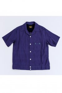 <img class='new_mark_img1' src='//img.shop-pro.jp/img/new/icons14.gif' style='border:none;display:inline;margin:0px;padding:0px;width:auto;' />【GERUGA】ゲルガ BOWLING SHIRTS (PURPLE)