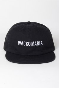 <img class='new_mark_img1' src='//img.shop-pro.jp/img/new/icons14.gif' style='border:none;display:inline;margin:0px;padding:0px;width:auto;' />【WACKO MARIA】ワコマリア 6 PANEL CAP ( TYPE-1 ) (BLACK)