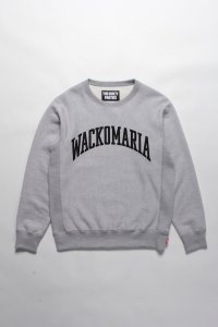 <img class='new_mark_img1' src='https://img.shop-pro.jp/img/new/icons14.gif' style='border:none;display:inline;margin:0px;padding:0px;width:auto;' />【WACKO MARIA】ワコマリア HEAVY WEIGHT CREW NECK SWEAT SHIRT ( TYPE-4 ) (GRAY)