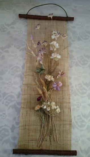 布花ペストリー(野の花、豆枝)