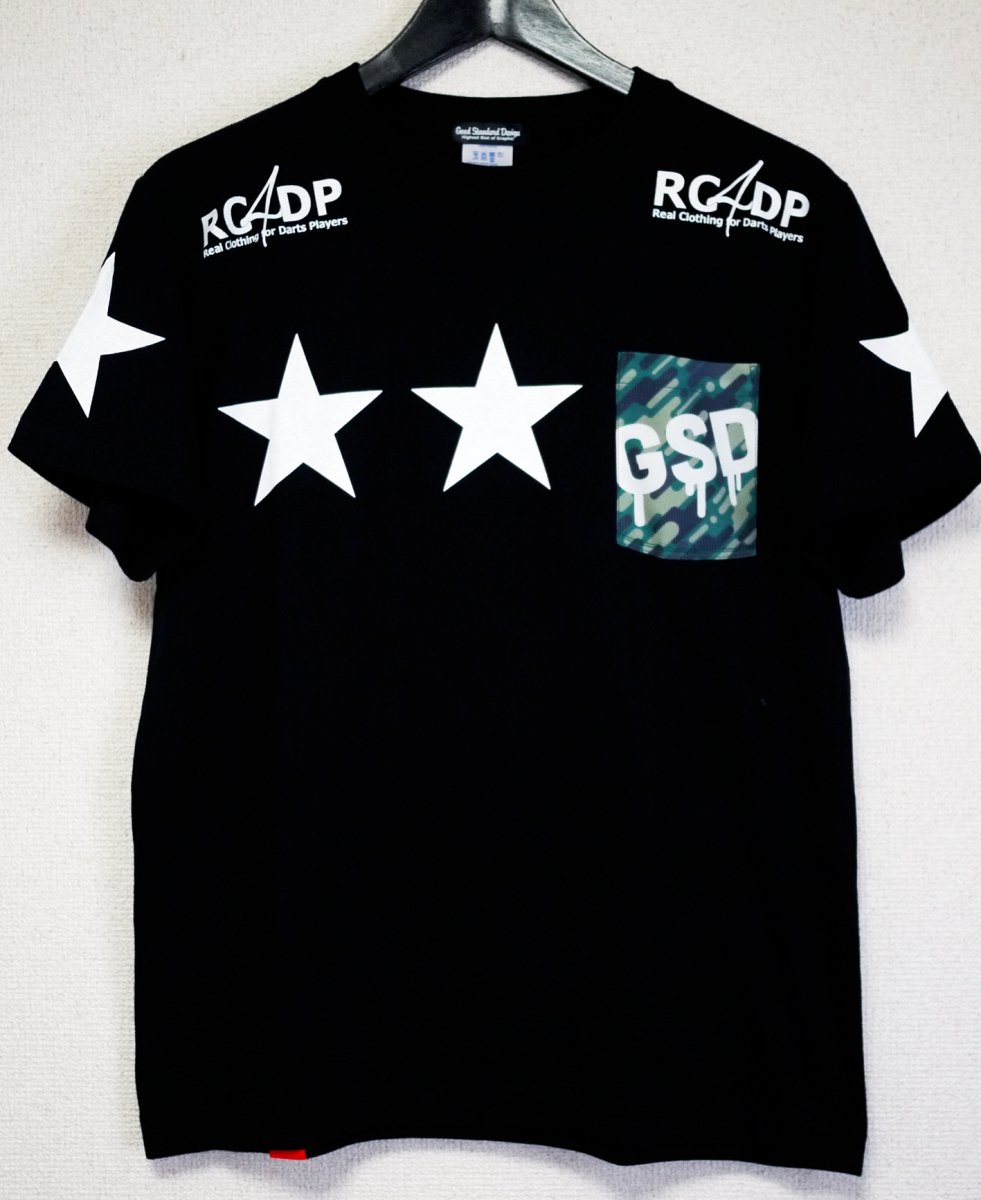 【半袖】ROCK STAR T-shirts/Black