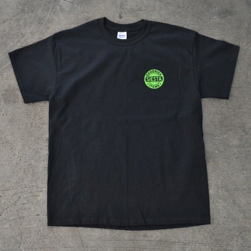 SIESTA(シエスタ)Original Logo Tee Shirt Black