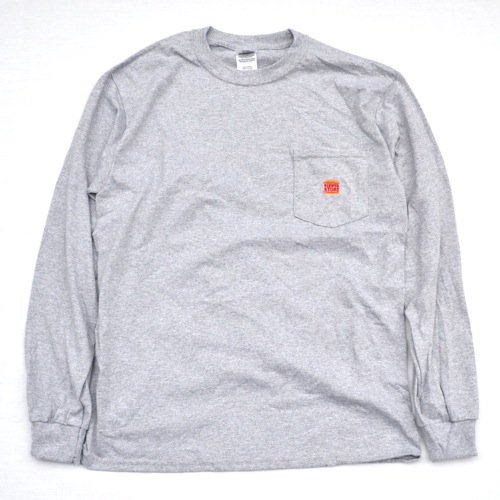 SIESTA(シエスタ)Original Jason Pocket Long Sleeve Tee Shirt Grey