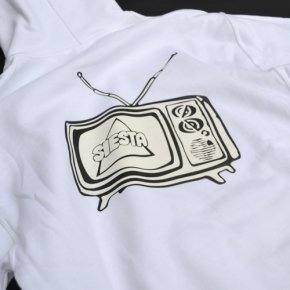 SIESTA(シエスタ)Original TV Party Hoodie White