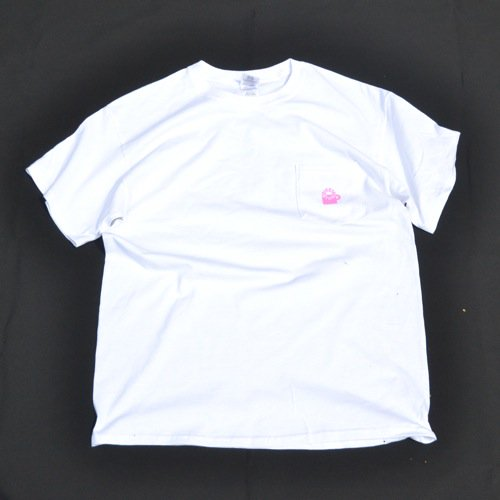 SIESTA(シエスタ)Original Aaron Pocket Tee Shirt White