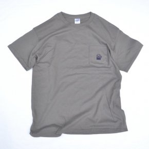 SIESTA(シエスタ)Original Aaron Pocket Tee Shirt Charcoal