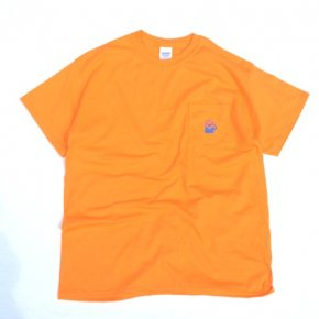 SIESTA(シエスタ)Original Aaron Pocket Tee Shirt Safety Orange