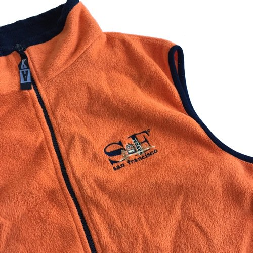 San Francisco Souvenir Fleece Vest
