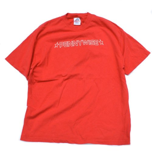 Pennywise Tee Red